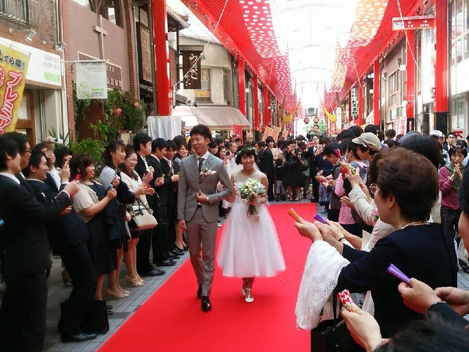 商店街結婚式を実現